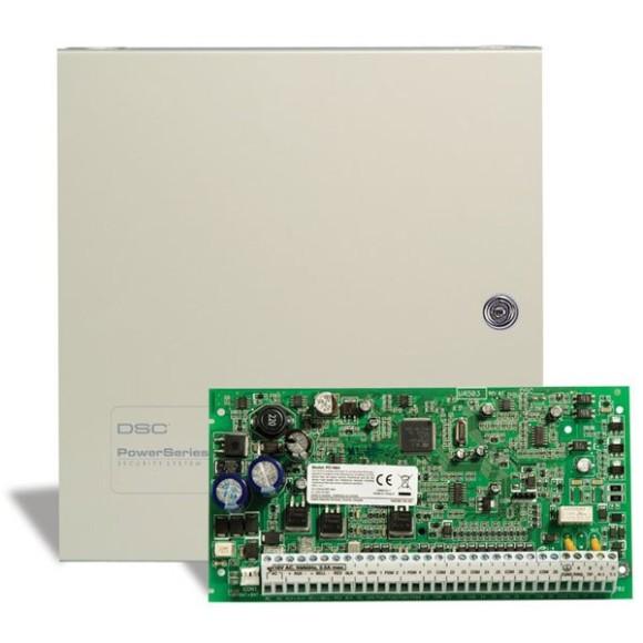 PC1864PCBPOR - CENTRAL DE ALARME PARA ATÉ 64 ZONAS V 4.7